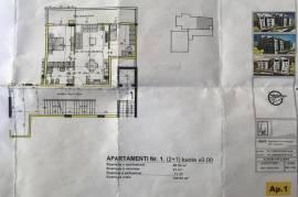 Apartament 2+1 me hipoteke te Liqeni i Thate, Shitje