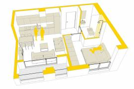 Apartament ne shitje, € 46.600,00, € 830,00