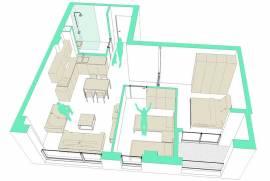 Apartament ne shitje, € 64.000,00, € 830,00
