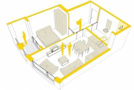 Apartament ne shitje, € 50.800, € 830