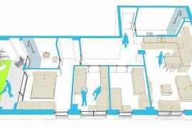 Apartament ne shitje 3+1, € 99.600,00, € 830,00