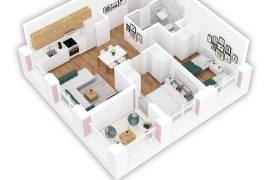 OKAZION! Apartament 2+1  63000 EURO, Shitje