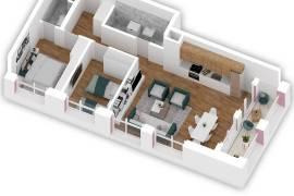 Shitet apartament 2+1 ,. 74.000 Euro, Shitje