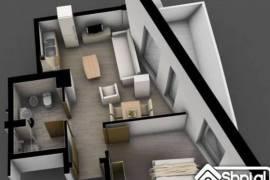 Shitet Apartament 1+1 me cmim te leverdisshem, € 53.000,00