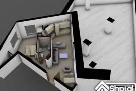 Apartament 1+1 dhe verande ne katin e 11-te, € 136.000,00