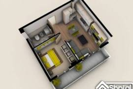 Apartament ne shitje 1+1