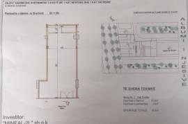 Shitet Dyqan 55.4 m² me hipoteke Unza e Re