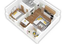 Okazion ! Apartament 1+1 49.000 Euro , Shitje