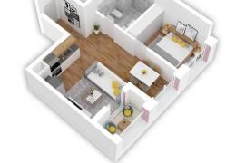 OKAZION ! Apartament 1+1 , 61 m2- 46.000 Euro , Shitje