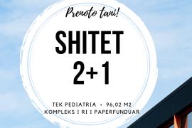 Shitet apartament 2+1,96 m2, tek Pediatria!, Sale