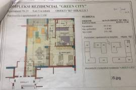 """Shitet 2+1 te Kompleksi  """"Green City"""", Shitje, Tirana"""