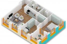 Super Okazion , Apartament 2+1 104 m2 - 76000 Euro, Shitje