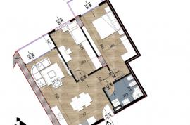 Apartament 2+1, Residenca Turdiu, Shitje