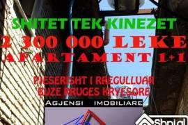 APARTAMENT 1+1 KATI I 4 PJESERISHT I RREGULLUAR, Elbasan