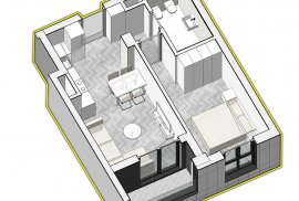 Super Okazion. Apartament 1+1 60 m2 - 66.000 Euro, Shitje