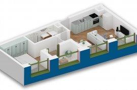 Okazion ! Apartament 1+1 , 64 m2 - 47000 Euro, Shitje
