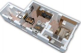 Okazion ! Apartament 1+1 , 62 m2 - 68000 Euro, Shitje