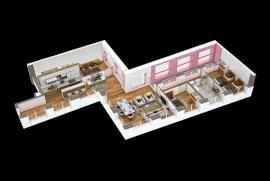 Super apartament luksi 3+1+2 tek Mangalem21, Shitje