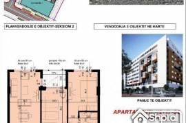 Shitet apartament 2+1 mbas Casa Italia-s