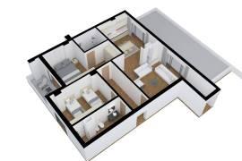 Shitet apartament 2+1 ne Tirane me hipoteke., Shitje