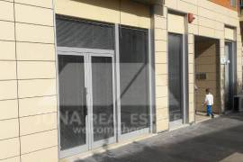 Dyqan per shitje afer stadiumit Qemal Stafa