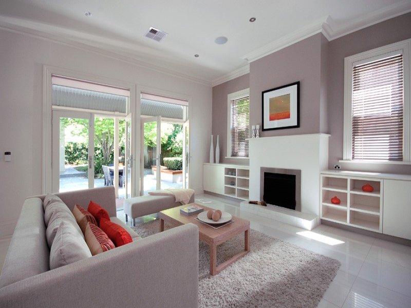 come arredare il salotto con stile - Colore Parete Soggiorno Classico 2